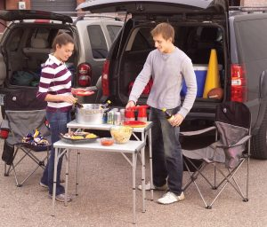 Coleman 2000003098 Pack-Away Outdoor 4-in-1 Table