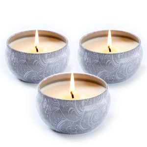 La Jolie Muse Blue Lotus Center Flame Best Bright Candle