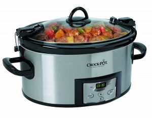 Crock-Pot Programmable Cook & Carry Slow Cooker