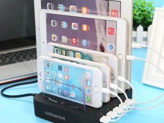 Top 10 Best USB Charging Stations For Tablet, iPhone & Android Device 2020 Review