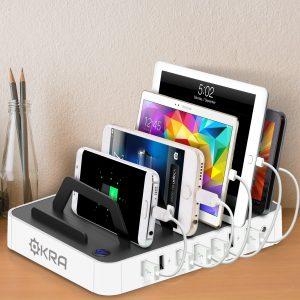 Okra 7-Port USB Charging Station