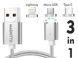 Top 10 Best Magnetic Cable Chargers For Table, iPhone & Android 2020 Review