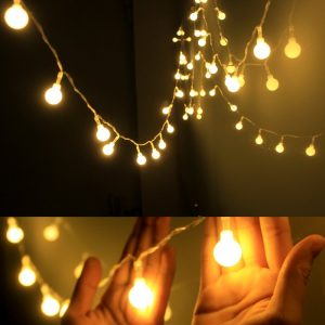Globe String Light, Daily art LED Starry Light Fairy Light