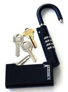 Best Small Size: Kingsley Guard-a-Key Black Realtor's Lockbox