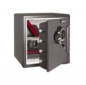 Best Security: SentrySafe Fire and Water Resistant Safe SFW123DSB