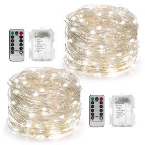 Waterproof YIHONG 8 Modes Twinkling 50 LED