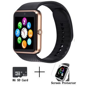 Beaulyn GT08 Smart Watch for Android phones, Bluetooth