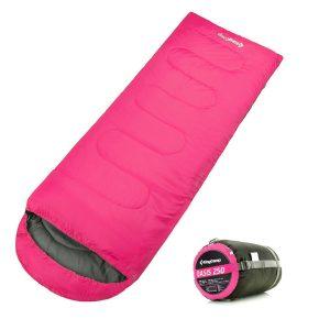 KingCamp Sleeping Bag, Envelope with compression sack Backpack