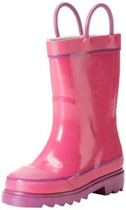 Western Chief Solid Waterproof Rain Boot, Kids Unisex