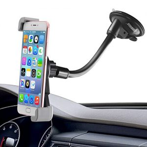 IPOW Large Device Dashboard/Windshield Phone Mount Cradle for iPhone X