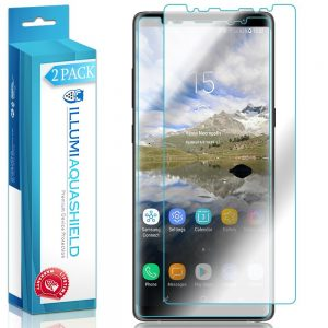 AquaShield Galaxy Note 8 Full Coverage Screen Protector 2-Pack ILLUMI
