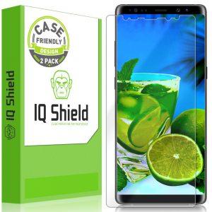 IQ Shield Galaxy Note 8 Screen Protector Case Friendly IQ Shield Liquid Screen Protector