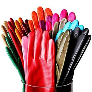 Winter Gloves Warm Touchscreen Windproof Gloves for Women Girls Printing Gloves Autumn And Winter Outdoor Using WANXM