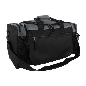 "DALIX Gym Duffel Bag, 19"" with Water Bottle"