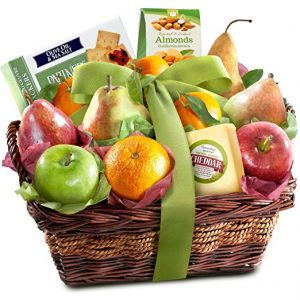 Golden State Nuts Delight Fruit and Cheese Fruit Basket