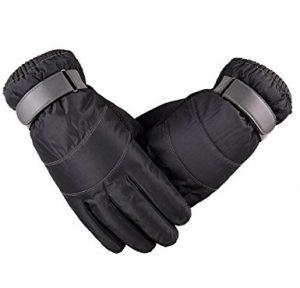 JOYEBUY Men Windproof and Waterproof Gloves Touchscreen Outdoor Ski Gloves