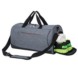 Kuston Sports Gym Bag with Shoe Compartment