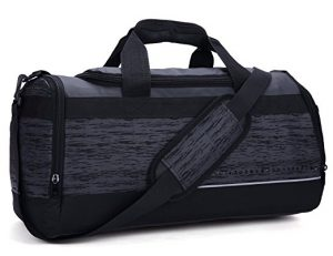 MIER 20 Inch Gym Bag with Shoe Compartment Men Duffel Bag