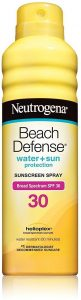 Neutrogena Beach Defense SPF 30 Spray