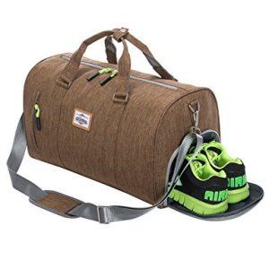 TMOUNT Duffle Bag Sports Gym Travel Luggage