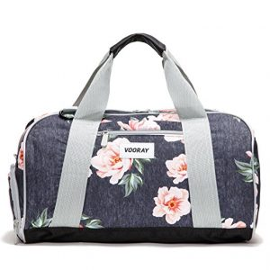 Vooray Burner Compact Gym Bag with Shoe Pocket