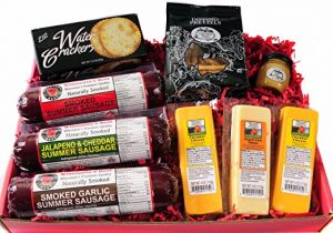 Ultimate Gift Basket with Features Smoked Sausages