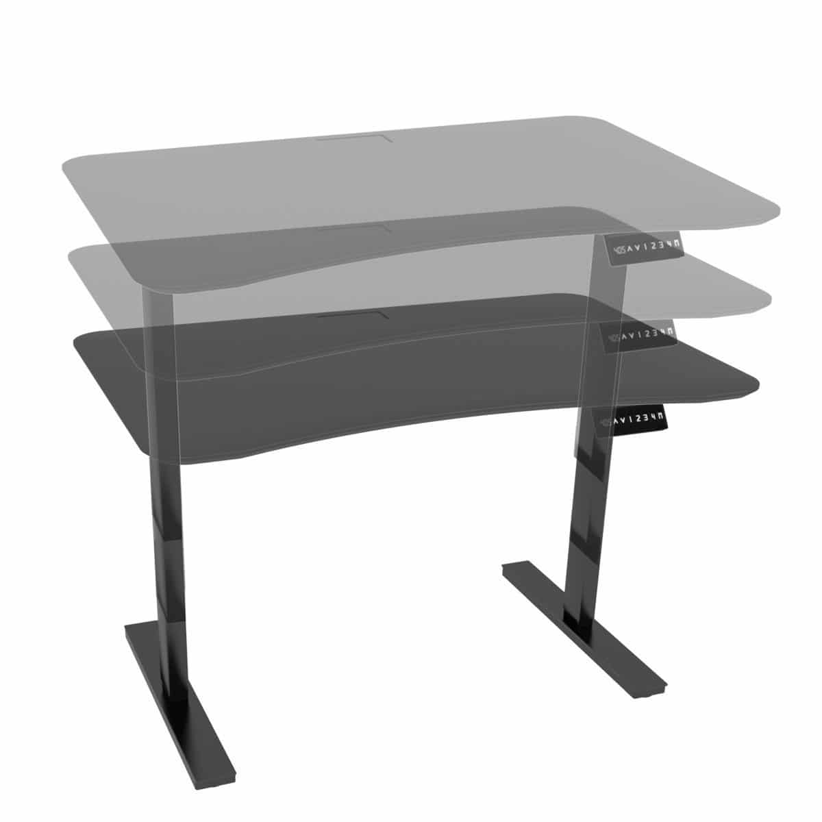 versa lan desk contemporary laminate products steel multimedia product prod