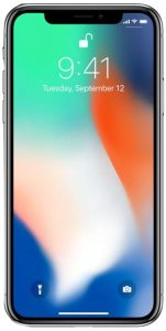 "Apple iPhone X, Fully Unlocked 5.8"", 256 GB"