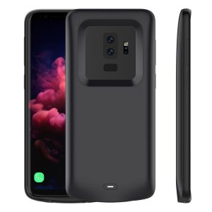 Samsung Galaxy S9 Plus Battery Case, LifeePro Slim 5200mAh Rechargeable Portable Battery Juice Pack Externa