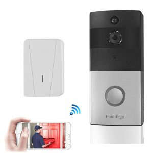 Funlifego WiFi Video Doorbell