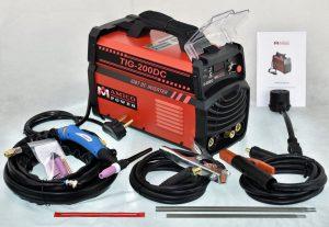 Amico 200 Amp TIG Torch Arc Stick DC Inverter Welder Dual Voltage IGBT Welding