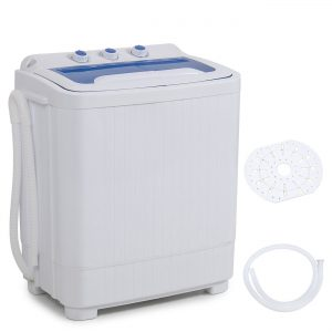 Della Mini Washing Machine Portable Compact Washer and Spin Dry Cycle