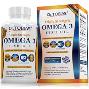 Dr. Tobias Omega 3 Fish Oil