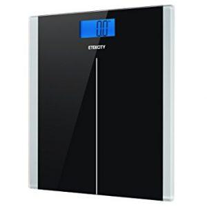 Etekcity Digital Body Weight Bathroom Scale with Step-On Technology