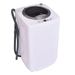 Giantex Portable Compact Full-Automatic Laundry 1.6 Cu. ft. Washing Machine