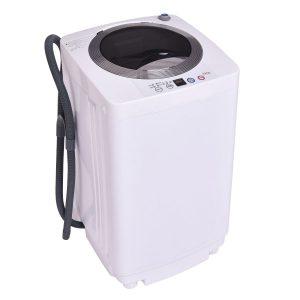 Giantex Portable Compact Full-Automatic Laundry 1.6 Cu. ft. Washing Machine