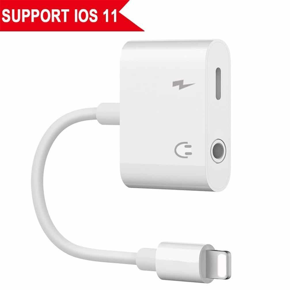 Earphones adapter for iphone 8 - iphone earphone adapter 8 plus
