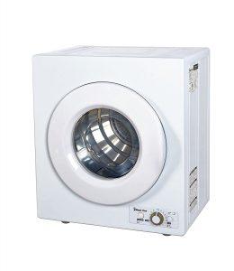 Magic Chef MCSDRY1S 2.6 cu. ft. Laundry Dryer, White
