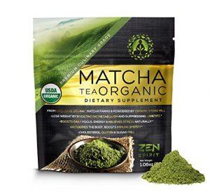 Matcha Green Tea Powder Organic - Japanese Premium Culinary Grade