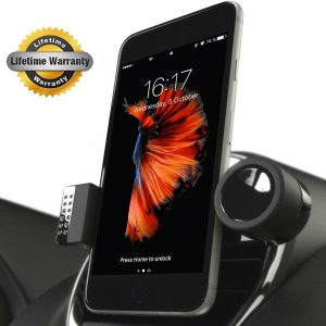 Auto Tech Luxury Car Phone Holder 360° Rotation For iPhone 6/6s