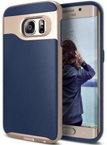 Caseology Slim Dual Layer Protective Textured Grip Corner Cushion Design for Samsung Galaxy S6 Edge