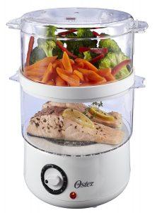 Oster 5-Quart Food Steamer CKSTSTMD5-W