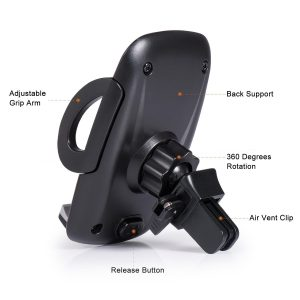 Ameauty Phone Mount Holder 360 Degree Adjustable Air Vent Car Mount for iPhone 6/6s