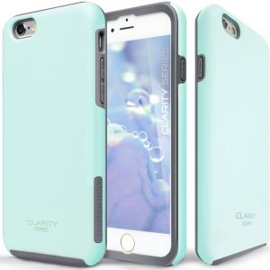 TEAM LUXURY Turquoise Ultra Defender TPU PC Shock Absorbent Slim-fit Premium Protective Case