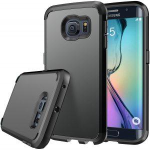 E LV (SHOCK PROOF DEFENDER) Slim Case Cover for Samsung Galaxy S6 Edge