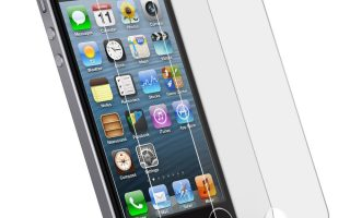 Top 10 Best iPhone 5c and 5s Screen Protector Review
