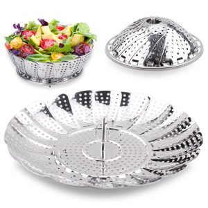 TIMMY Steamer Basket Vegetable Steamer