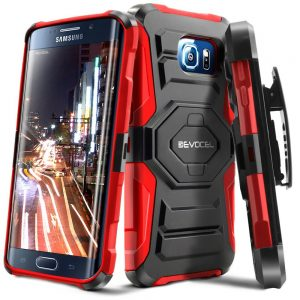 Evocel Galaxy S6 Edge Dual Layer Rugged Holster Case For Samsung Galaxy S6 Edge