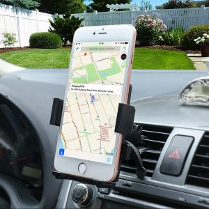 Gright Univeral Cell Phone Car Phone Mount Holder Cradle for iPhone 6/6s