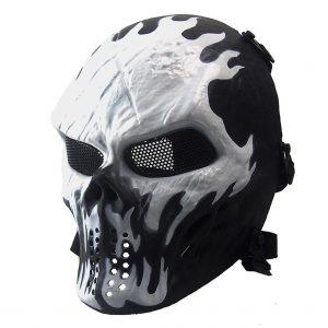 Annay Airsoft Mask Skull Skeleton Full Face Masks